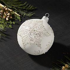 Snowstar Ball Ornament