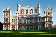 Wollaton Hall, Nottinghamshire, built between 1580-88 by the brilliant Robert Smythson, had a soaring central tower designed to be topped by a prospect room from which to watch the hunting.