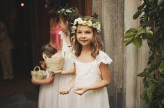 Flower girls reath