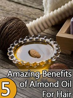 5 Magical Sweet Almond Oil Uses For Hair. This type of oil is a perfect base for other luxury hair oils because it can easily be absorbed deeply into the hair.