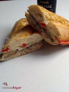 Bocadillo de Ternera con queso curado