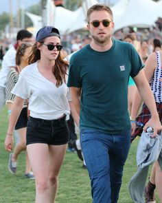 Kristen Stewart and Robert Pattinson at the 2013 Coachella Valley Music and Arts Festival