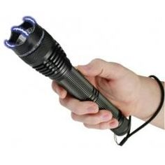 8,000,000 Tactical Stun Gun Flashlight Best Stun Gun Flashlight for self defense. It's high voltage and it can also be used as a stun baton. Made by Stun Master. http://www.absolutesecuritystore.com/blog/uncategorized/2014/12/get-instant-protection-with-the-new-stun-gun-flashlight-batons/ Repin