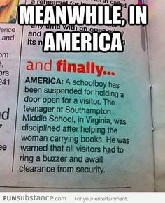 Meanwhile in America America Funny, America Memes, America America, Best Memes, Funny Memes, Hilarious, It's Funny, Funny Pics, Funny Quotes