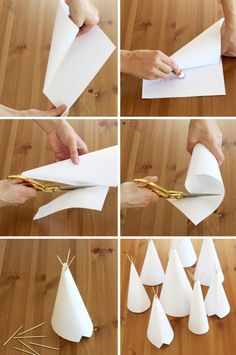 Easy Teepee Kids Craft Project via @PagingSupermom #family #KidsCrafts