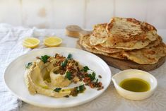 Maggie Beer's Hummus with Roasted Pumpkin Seeds and Pinenuts