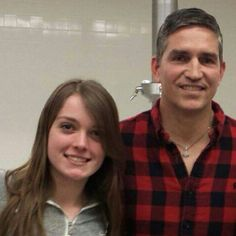 Jim Caviezel with fans at a basketball gathering in washington