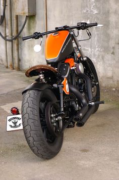 Sportster Harley Bobber 883K Designed by Vida Loca Choppers in 2011