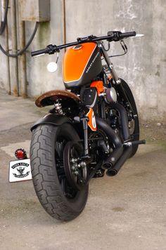 Sportster Harley Bobber 883K Designed by Vida Loca Choppers in 2011