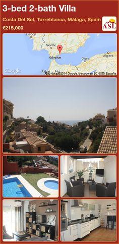 3-bed 2-bath Villa in Costa Del Sol, Torreblanca, Málaga, Spain ►€215,000 #PropertyForSaleInSpain