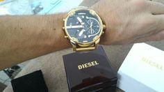 dz7333 - Diesel DZ7333 gold Mr. Daddy 2.0