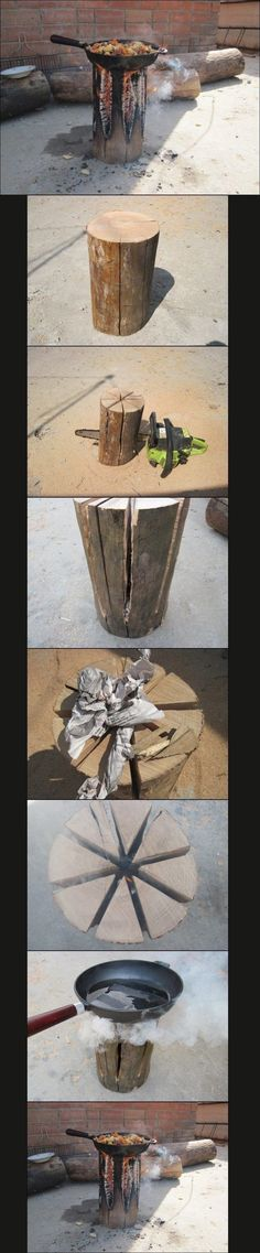 Cooking Like a Man: The Swedish Fire Torch - Imgur