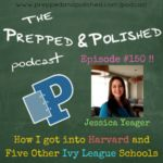 On ep. #150, Jessica tells us her amazing journey through the #CollegeApplication process and how she got into SIX ivy league #schools ! >> http://bit.ly/2kRsKhL