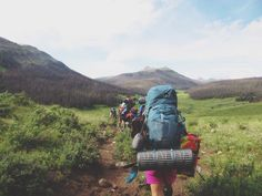 backpacking in the San Juan mountains