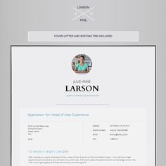 Template Cover Letter Resume Template Cv Template Cover Letter  Resume  Pinterest  Cv .