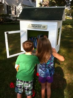 Liz Bailey. Scotia, NY. This is a Little Free Library located in a walking neighborhood in the Village of Scotia New York. The library is dedicated to promoting early and ongoing literacy for children of all ages. It is sponsored by an elementary school librarian and her special education teacher husband, who built the LFL.