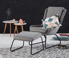 Sessel mit Fußhocker online bestellen bei Tchibo 339825