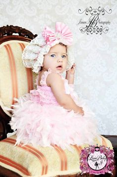 Heavenly Essence Full Feather Dress...oh my goodness....so adorable..fluffy lacy and feathers and bows and sweetness!