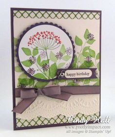 Summer Silhouettes Birthday by Cindy Hall - Cards and Paper Crafts at Splitcoaststampers