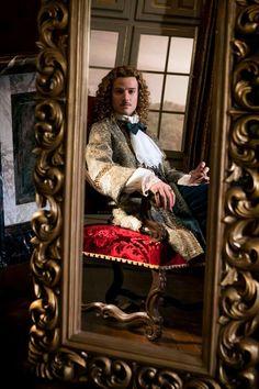 The incredible Evan Williams as the Chevalier de Lorraine in season 2 of Versailles