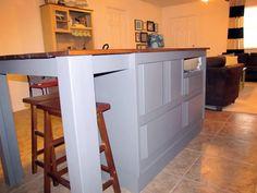Diy Kitchen Island From Dresser need kitchen storage? make a kitchen island from a dresser