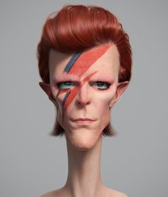Bowie, Guzz Soares on ArtStation at https://www.artstation.com/artwork/ZP6Ex