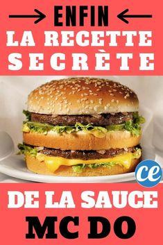 Finally The Big Mac Secret Sauce Recipe for Your Homemade Hamburgers Steak Tips, Steak Recipes, Sauce Recipes, Mc Chicken, Sauce For Chicken, Homemade Sandwich Bread, Homemade Hamburgers, Big Mac, Aioli