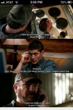 Supernatural~ Ba ha ha!! I love this show!