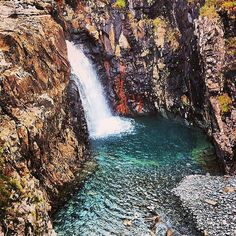 See the Fairy Pools in Scotland: Source: Instagram user bumblebambi