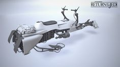 ArtStation - Return of The Jedi: Scout Speeder - Highres, Sean Marino