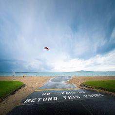 #kitesurfing, taken in #auckland #newzealand