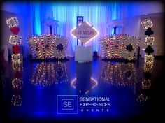 Las Vegas Stage by Sensational Experiences Events.