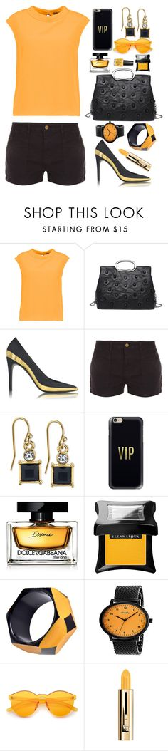 """Shorts"" by dogzprinted ❤ liked on Polyvore featuring Raoul, Balmain, Frame, 2028, Casetify, Dolce&Gabbana, Illamasqua, Simplify, Guerlain and OPI"
