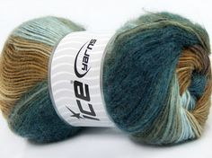 Madonna at Yarn Paradise Brown Shades, Blue Brown, Crochet Hooks, Madonna, Light Blue, Winter Hats, Teal, Throw Pillows, Yarns