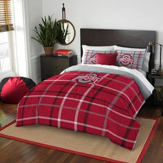 product image for Ohio State University Embroidered Comforter Set