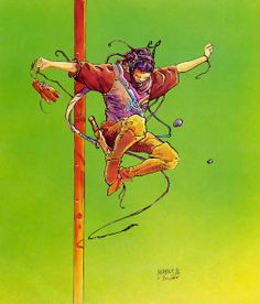 Moebius and Sylvain - Zareth the Sly - Artight Garage (1986)