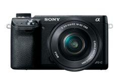 Sony NEX-6L/B 16.1 MP Compact Interchangeable Lens Digital Camera with 16-50mm Power Zoom Lens and 3-Inch LED (Black) by Sony, http://www.amazon.com/dp/B0096W1OKS/ref=cm_sw_r_pi_dp_dEPOqb1XJ34G9