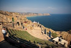 Minack theatre on the coast, Porthcurno, Cornwall, England by VisitEngland