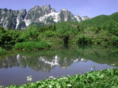 Mt.Tsurugidake (from Sennin-ike)