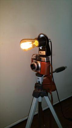homemade lichting from a retro Agfa photocamera