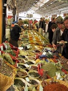 Antibes market , France...been there! Ha!