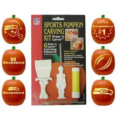 Seattle Seahawks Pumpkin Carving Kit