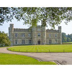 Stewart Parr 'Leeds Castle near Kent, England - view front Sunny Day' Unframed Photo Print