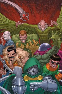 Doctor Doom & the Sinister Six by Roger Cruz