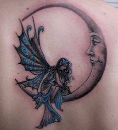 Fairy Tattoo - Reminds Me of My Mom