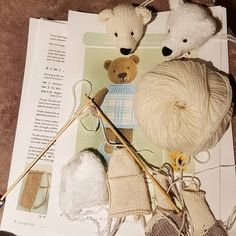 I have 3 Christmas themed bears in the making, Betty, Bo and Burty. If you have any interest in giving one a home please do get in touch. Polar Bear, Teddy Bear, Little Cotton Rabbits, Christmas Themes, Giving, Photo And Video, Bears, Knitting, Toys