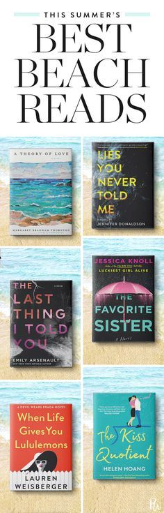 The Best Beach Reads of Summer 2018
