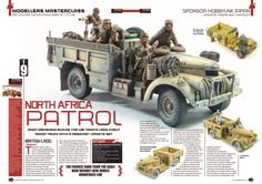 1/35 North Africa British SAS Patrol Truck