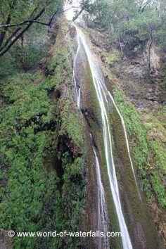 Nojoqui Falls - near Solvang in  Santa Barbara County, California