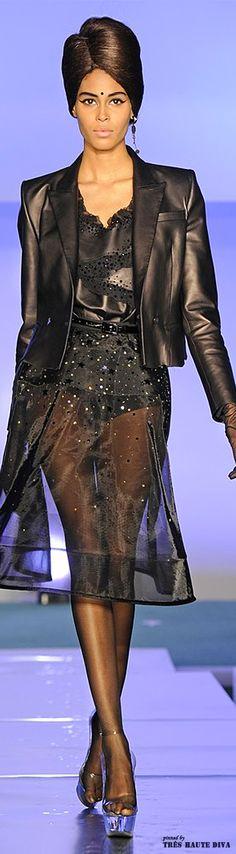 #Paris Fashion Week Jean Paul Gaultier Fall 2014 RTW